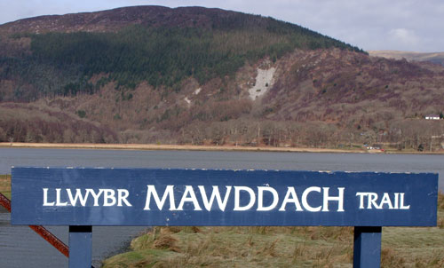 Mawddach Trail Map and guide to the 'Railway Walk' from Dollgellau to Barmouth (or Barmouth to Dolgellau) in Snowdonia, Wales